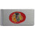 Chicago Blackhawks Brushed Metal Money Clip