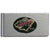 Minnesota Wild Brushed Metal Money Clip