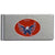 Washington Capitals Brushed Metal Money Clip