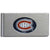 Montreal Canadiens Brushed Metal Money Clip