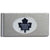 Toronto Maple Leafs Brushed Metal Money Clip