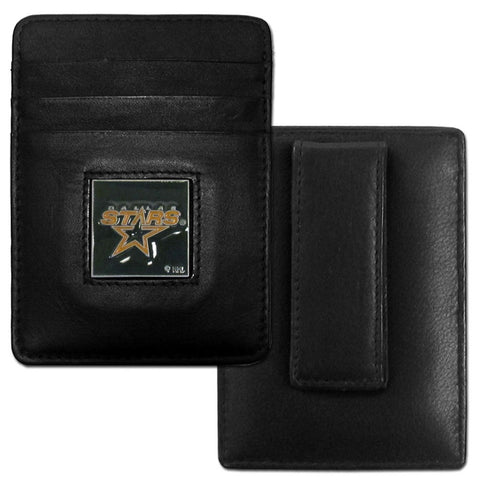 Stars Leather Money Clip/Cardholder