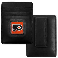 Flyers Leather Money Clip/Cardholder
