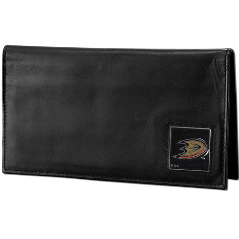 Ducks Leather Dlx. Checkbook