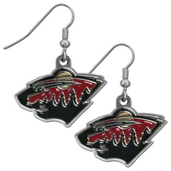 Minnesota Wild Dangle Earrings