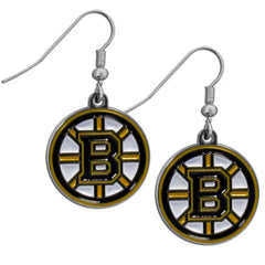 Bruins Dangle Earrings