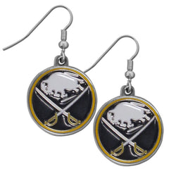 Buffalo Sabres Dangle Earrings