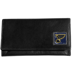 Blues Leather Women's Wallet