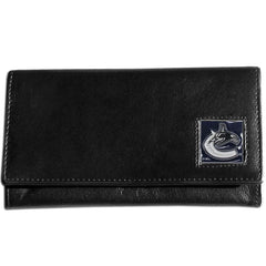 Canucks Leather Women's Wallet