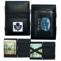 Maple Leafs Leather Jacob's Ladder Wallet
