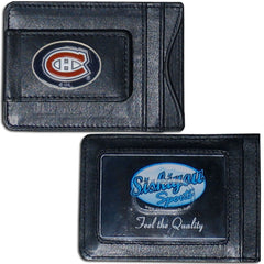 Canadiens Leather Cash & Cardholder