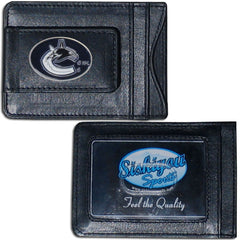 Canucks Leather Cash & Cardholder