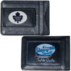 Maple Leafs Leather Cash & Cardholder