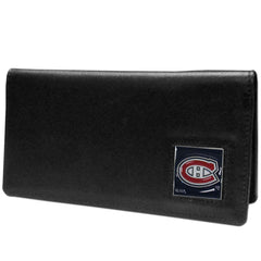 Canadiens Leather Checkbook