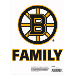 Boston Bruins Team Pride Decal