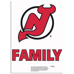 New Jersey Devils Team Pride Decal