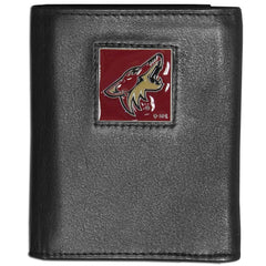 Coyotes Leather Tri-fold Wallet