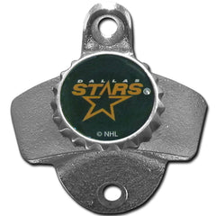 Dallas Stars Wall Mounted Bottle Opener