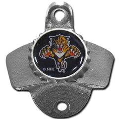 Florida Panthers Wall Mounted Bottle Opener