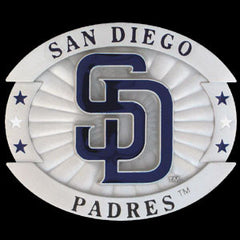 MLB Oversized Buckle - San Diego Padres