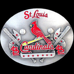 MLB Belt Buckle - St. Louis Cardinals