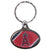 Angels Oval Key Chain