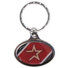 Astros Oval Key Chain