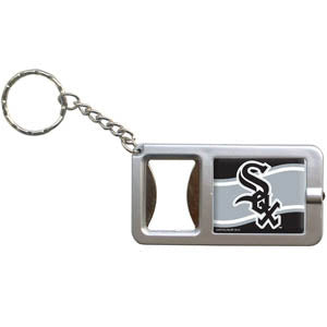 White Sox Flashlight Key Chain