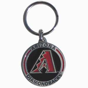 MLB Zinc Key Ring - Diamondbacks