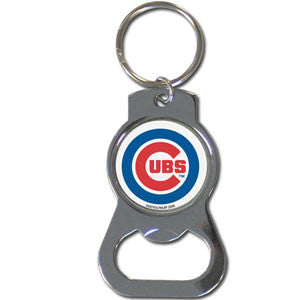 MLB Bottle Opener Keychain - Chicago Cubs