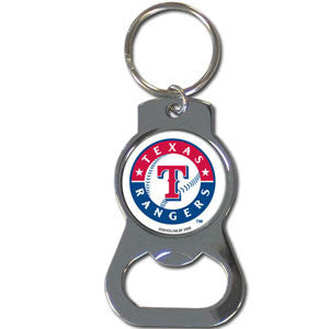 MLB Bottle Opener Keychain - Texas Rangers