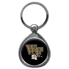 Wake Forest Chrome Key Chain