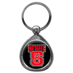 N. Carolina St. Chrome Key Chain