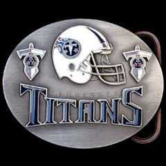 NFL Belt Buckle - Tennessee Titans