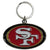 49ers Chrome Key Chain