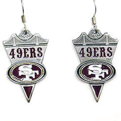 49ers NFL Stud Earrings