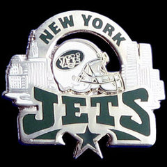 Glossy NFL Team Pin - New York Jets