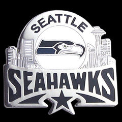Glossy NFL Team Pin - Seattle Seahawks