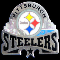 Glossy NFL Team Pin - Pittsburgh Steelers
