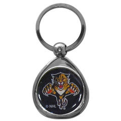 Florida Panthers Chrome Key Chain