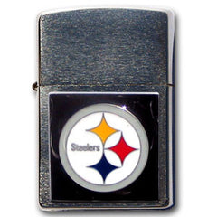 Large Emblem NFL Zippo - Pittsburgh Steelers
