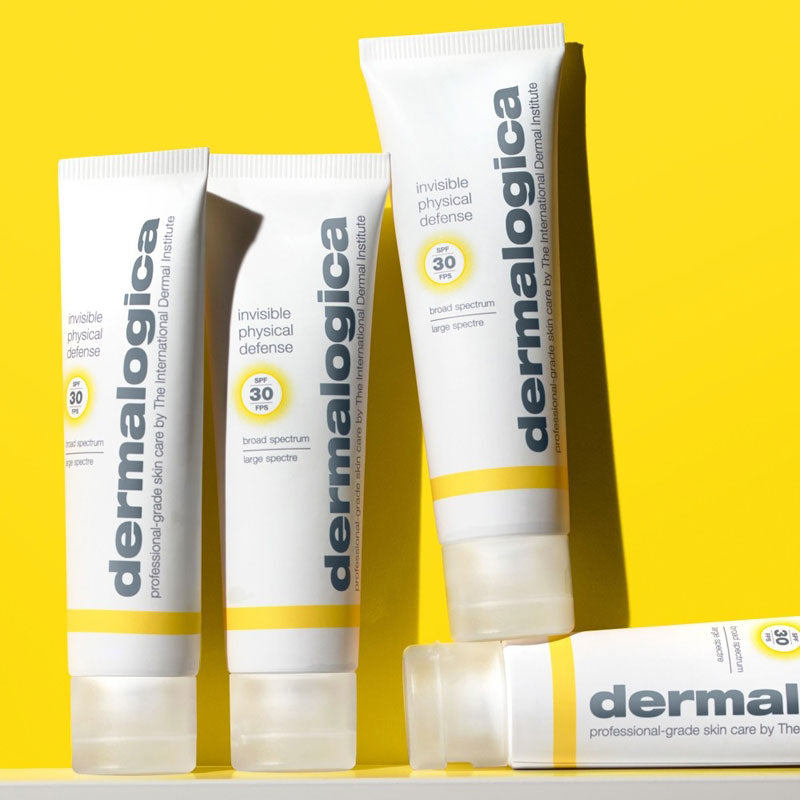 Dermalogica Invisible Physical Defense Gele Achtergrond