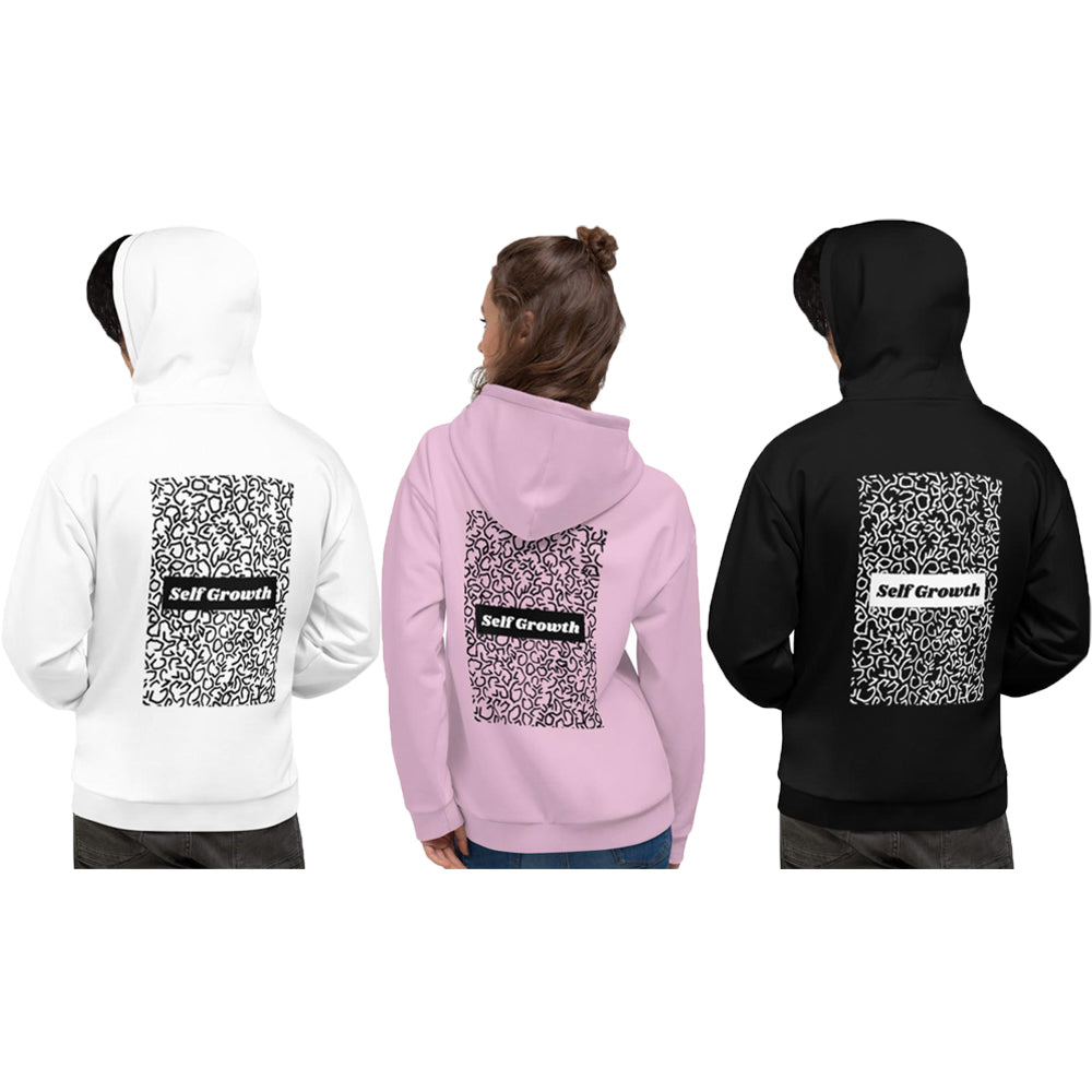 "UPLIFT Unisex ""Self Growth"" Hoodie - UPLIFT WEAR"