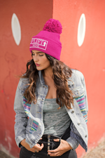 Load image into Gallery viewer, UPLIFT Embroidered Winter Beanie - UPLIFT WEAR