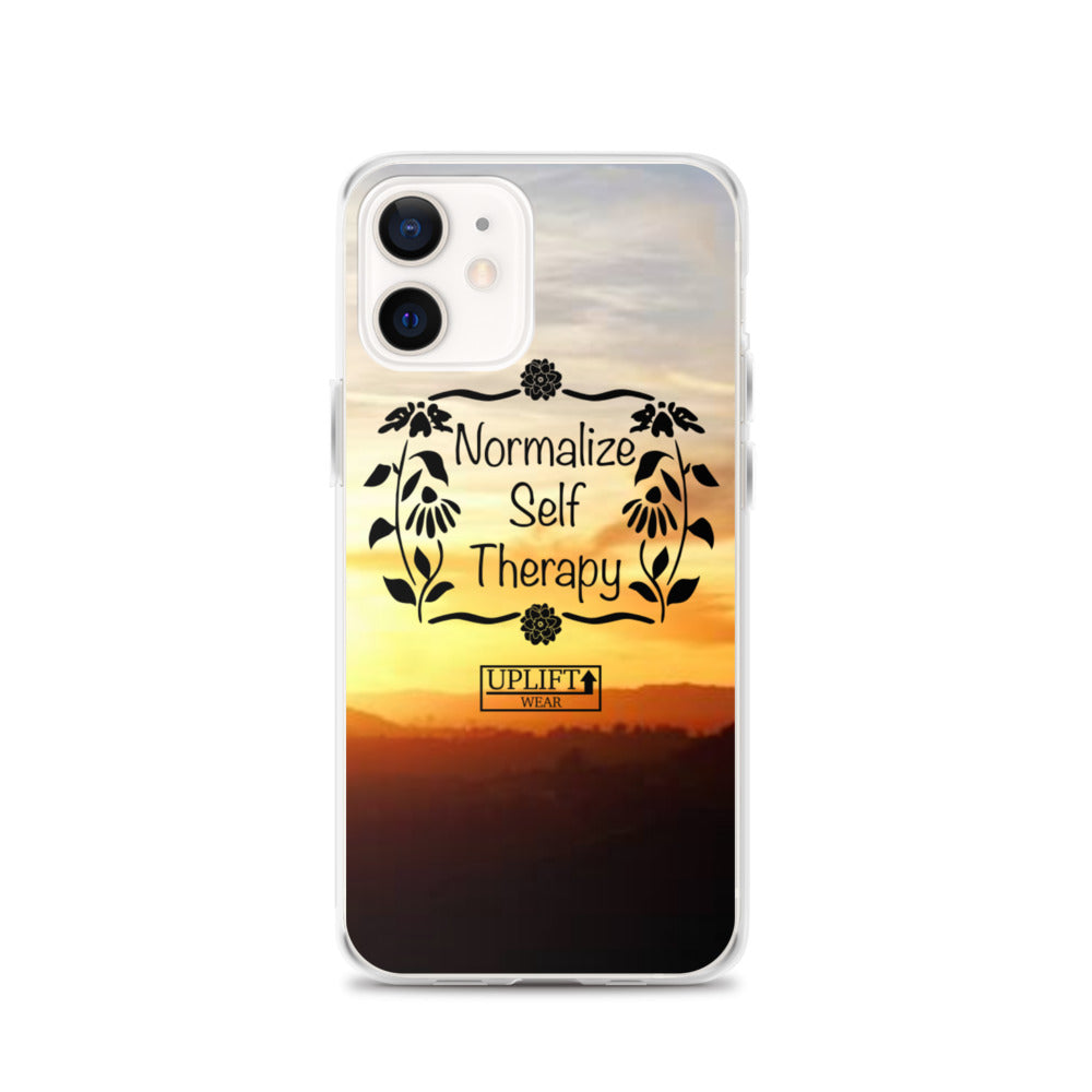 "UPLIFT ""Normalize Self Therapy"" iPhone Case"