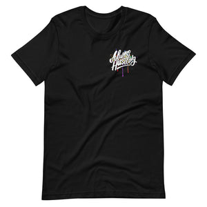 "UPLIFT Men's ""Always Hustling"" Graphic Short Sleeve Tee - UPLIFT Wear - Black"