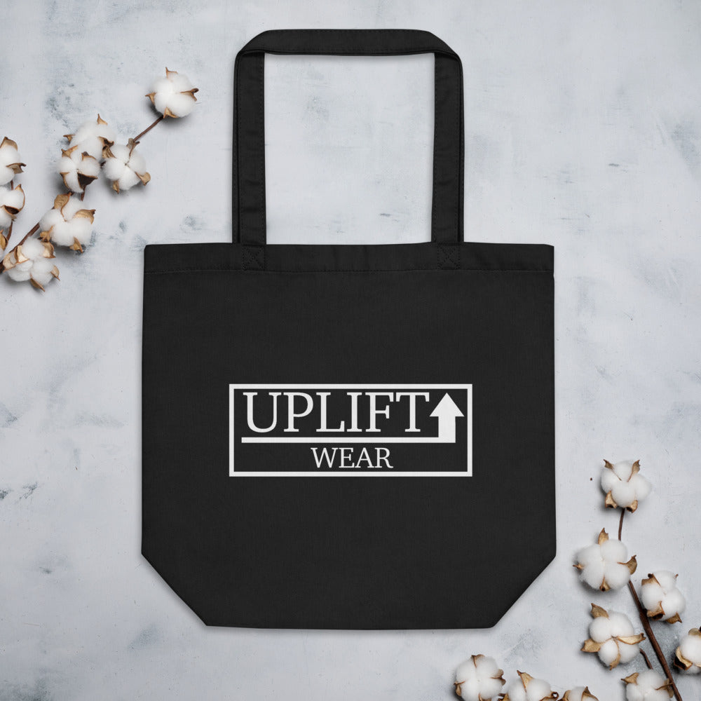 UPLIFT Eco Tote Bag - UPLIFT WEAR - Black