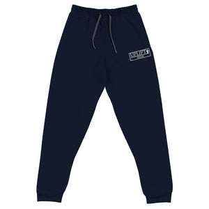 UPLIFT Unisex Embroidered Joggers - UPLIFT WEAR - Navy