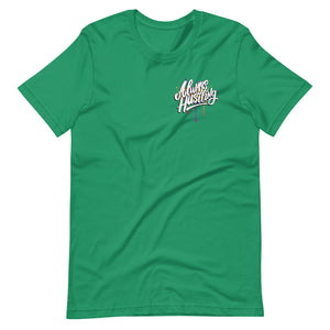 "UPLIFT Men's ""Always Hustling"" Graphic Short Sleeve Tee - UPLIFT Wear - Kelly Green"