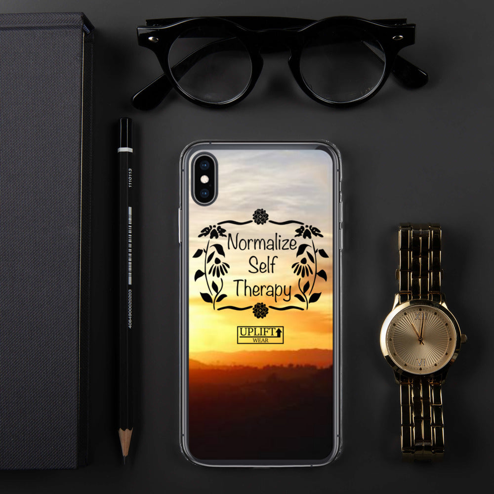 "UPLIFT ""Normalize Self Therapy"" iPhone Case - UPLIFT Wear - iPhone XS Max"